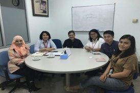 Kunjungan Mahasiswa Kerja Praktek